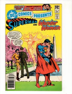 DC Comics Presents #32 (VF) Wonder Woman Appearance DC
