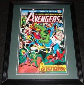 Avengers #118 Loki Hulk Framed Cover Photo Poster 11x14 Official Repro