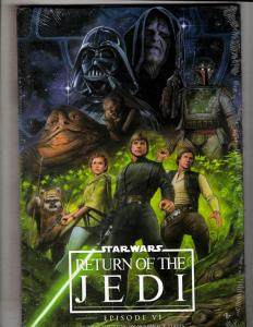 Star Wars Episode VI Return Of The Jedi Marvel Comics HARDCOVER SEALED Book J307