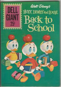 Dell Giant #49 (Jan-61) VF+ High-Grade Donald Duck, Uncle Scrooge, Huey, Dewe...