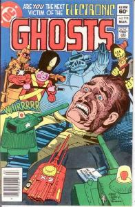 GHOSTS 110 VF-NM  March 1982 COMICS BOOK