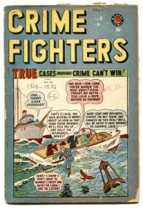 Crimefighters #8 1949- Canadian edition- Marvel FR