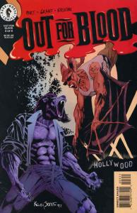 Out For Blood #3 FN; Dark Horse | save on shipping - details inside