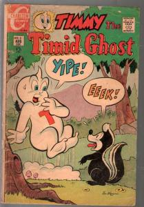Timmy The Timid Ghost #5 1968-Charlton-witch cover-FR/G
