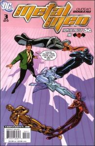 DC METAL MEN (2007 Series) #3 VF/NM