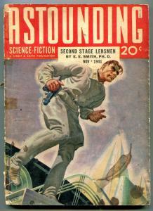 Astounding Science-Fiction Pulp November 1941- EE Smith- Hubert Rogers G