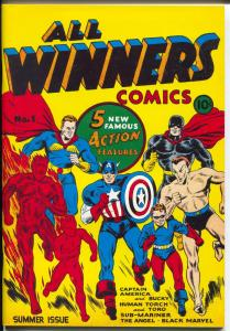 Flashback #23 1970's-Reprints All Winners Comics #1 from 1941-NM