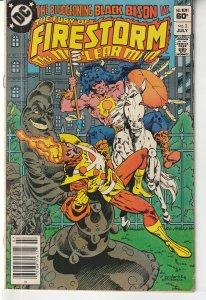 Fury of Firestorm(vol. 1) # 2   Legacy of Super Chief !