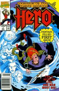 Hero (1990 series) #1, NM + (Stock photo)