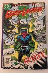 The Green Lantern Corp  222 7-0-fn-vf