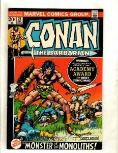 Conan The Barbarian # 21 VF Marvel Comic Book Elric Red Sonja Kull King RS2