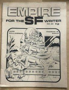 EMPIRE FOR THE SF WRITER #24 (Vol. 6, #3, Summer 1981) VF Classic sci-fi zine