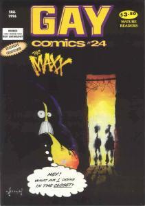 Gay Comics (Bob Ross) #24 FN; Bob Ross | save on shipping - details inside