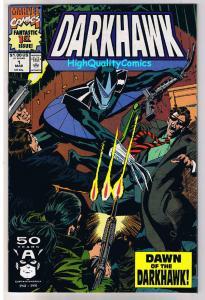 DARKHAWK #1, NM, Marvel SuperHero, Dawn of, Manley, 1991, more Marvel in store