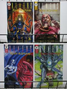 ALIENS MUSIC OF THE SPEARS (1994 DH)1-4 complete series