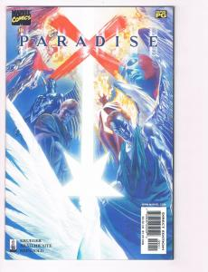 Paradise X # 0 NM Marvel Comic Book X-Men Avengers Fantastic Four Alex Ross S80