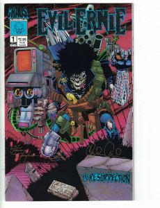 Evil Ernie: The Resurrection #1 VG signed by Pulido, Hughes, & Morales - Chaos