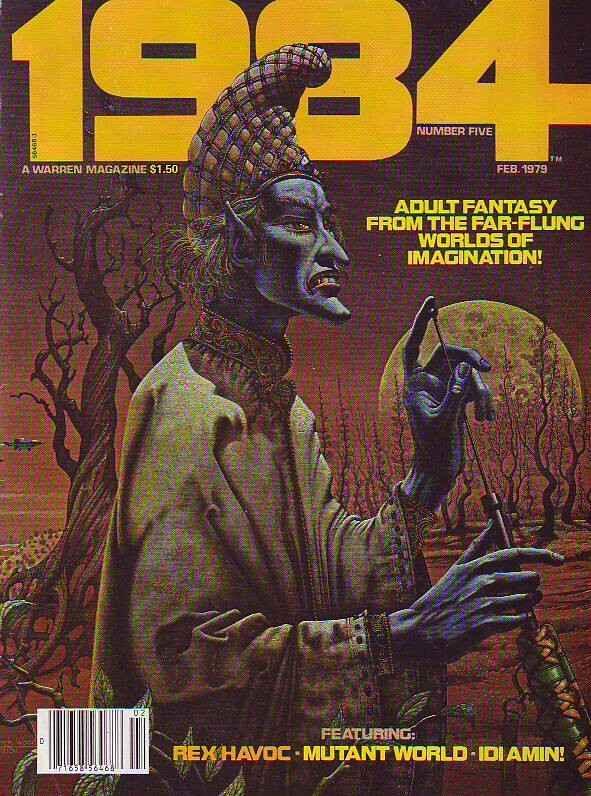 1984 #5 (Feb-79) NM+ Super-High-Grade Rex Havoc, Mutant World and Idi Amin