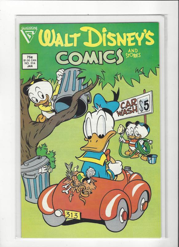 Walt Disney's Comics and Stories #514  Gladstone issue NM