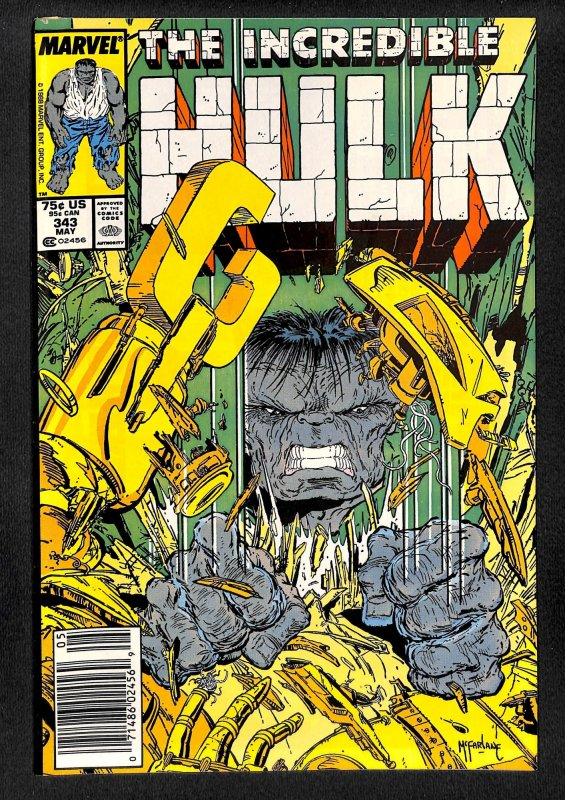 The Incredible Hulk #343 (1988)