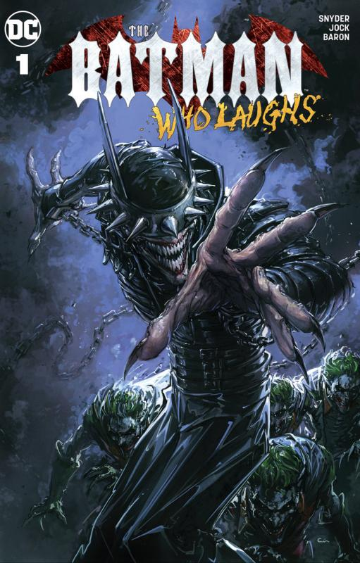 BATMAN WHO LAUGHS #1 Clayton Crain Exclusive Variant Trade Dress