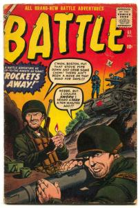 Battle Comics #61 1958- Picket's Charge -Gettysburg