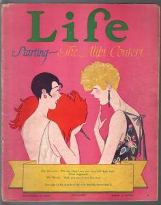 Life 12/16/1926-platinum age cartoonists-L T Holton-Gluyas Williams-Anderson-VG-