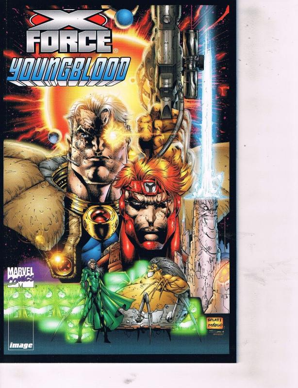 2 X-Force Youngblood # 1 & Youngblood X-Force # 1 Marvel Image Comic Books TW26