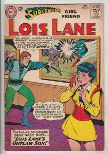 Lois Lane, Superman's Girlfriend  #46 (Jan-64) FN/VF+ High-Grade Superman, Lo...