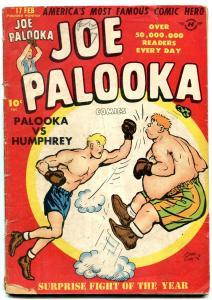 JOE PALOOKA #17 '48-HUMPHREY V JOE-LITTLE MAX-BLACK CAT G/VG