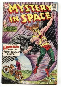 Mystery in Space #89- Hawkman- Adam Strange- Silver-Age FN