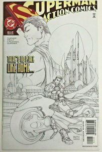ACTION COMICS#812 VF/NM 2004 MICHAEL TURNER SKETCH VARIANT DC COMICS