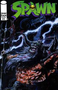 Spawn FAN #3 VF/NM; Image | save on shipping - details inside