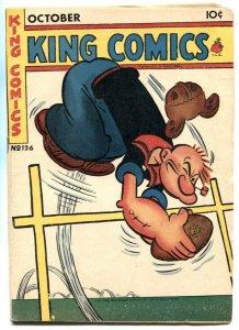 King Comics #126 1946- Popeye football cover VG