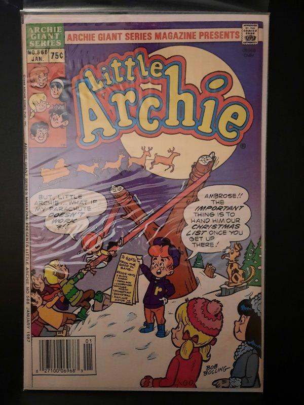 Archie Giant Series Magazine #566 (1987) Little Archie