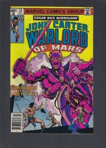 John Carter Warlord of Mars #28 (1979)