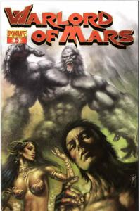 Warlord of Mars #5B FN; Dynamite | save on shipping - details inside