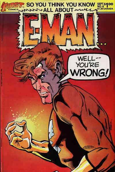 E-Man (2nd Series) #6 VF/NM First - save on shipping - details inside
