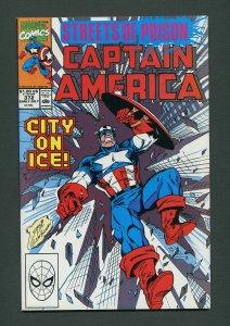 Captain America #372  / 9.2 NM-  July 1990