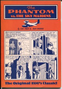 Phantom vs The Sky Maidens 1982-reprints 1936-37 comic strip-Lee Falk-Moore-VF-