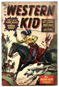 Western Kid #2 1955- Atlas comic- Maneely cover FAIR