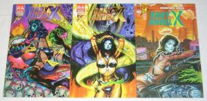 Baby Angel X #1-3 VF/NM complete series - scott harrison - brainstorm comics set