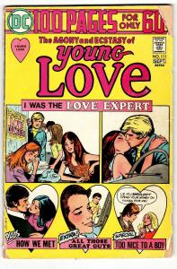 Young Love #111 1974- DC Romance 100 page giant  Love Expert G-