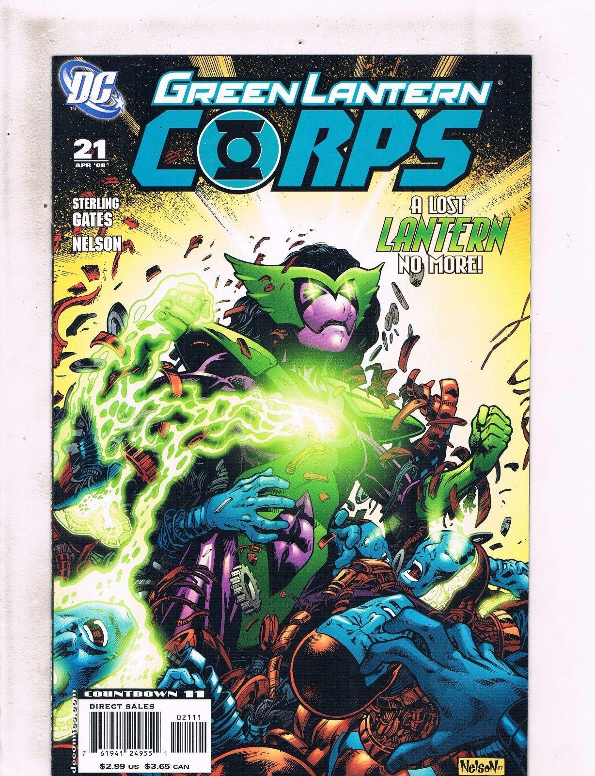 Green Lantern Corps Recharge #3 2006 VF Stock Image