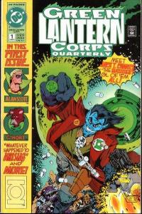 Green Lantern Corps Quarterly #1, NM (Stock photo)