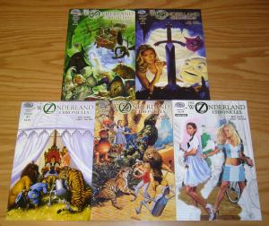Oz/Wonderland Chronicles #1-4 VF/NM complete series + preview - joe jusko set
