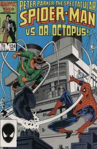 Spectacular Spider-Man, The #124 VF/NM; Marvel   save on shipping - details insi