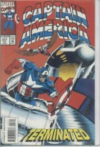 Captain America (1968 series) #417, VF+ (Stock photo)