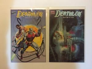 Deathlok 1-4 Near Mint Lot Set Run Prestige Format