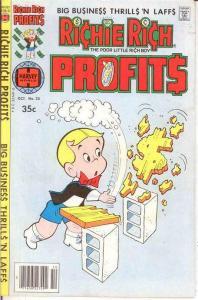 RICHIE RICH PROFITS (1974-1982) 25 VF-NM Oct. 1978 COMICS BOOK